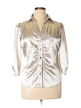 Vertigo Paris 3/4 Sleeve Blouse Size XL