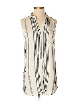 Cato Sleeveless Button-Down Shirt Size S