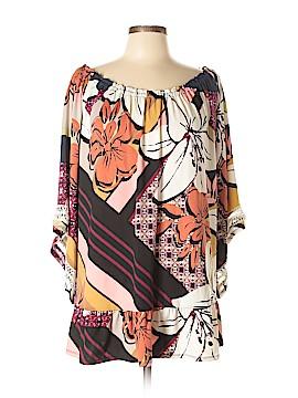 Melissa Paige 3/4 Sleeve Top Size XL