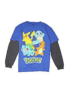 Pokemon Long Sleeve T-Shirt Size M (Youth)