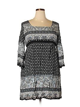 Perch by Blu Pepper Casual Dress Size 1X (Plus)