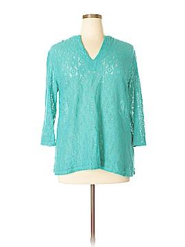Nicole Miller 3/4 Sleeve Blouse Size XL