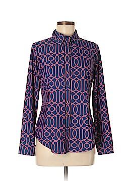 Jude Connally Long Sleeve Button-Down Shirt Size M