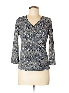 Sigrid Olsen Long Sleeve Blouse Size S