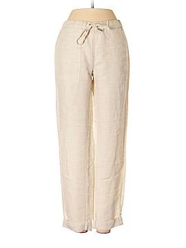 Blue Saks Fifth Avenue Linen Pants Size XS