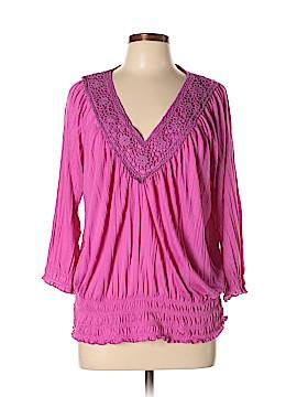 Allison Brittney 3/4 Sleeve Top Size XL