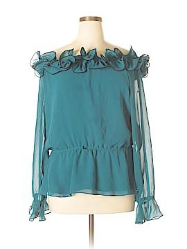 DressBarn Long Sleeve Blouse Size 16