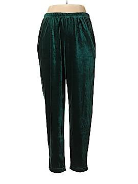 Diane von Furstenberg Velour Pants Size 1X (Plus)