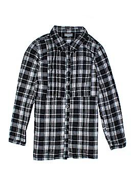 Essentials Long Sleeve Button-Down Shirt Size 18 - 20 (Plus)