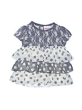 Little Lass Short Sleeve Blouse Size 4T