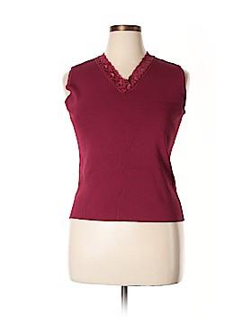 Linda Matthews Sleeveless Top Size XL