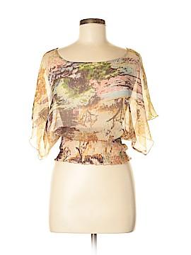 American Rag Short Sleeve Blouse Size S