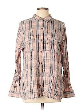 Melrose and Market Long Sleeve Button-Down Shirt Size XL
