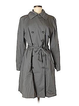 Garnet Hill Trenchcoat Size M