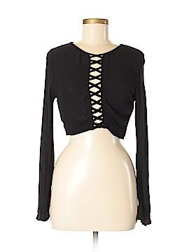 H&M Loves Coachella Long Sleeve Blouse Size 6