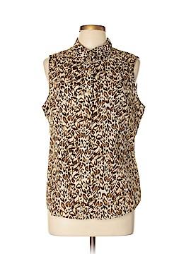 Jones New York Sport Sleeveless Button-Down Shirt Size XL