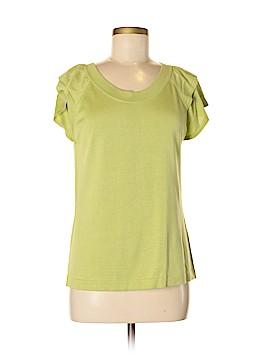 Tori Richard Short Sleeve Silk Top Size M