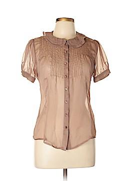 Lux Short Sleeve Blouse Size L
