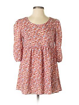 Boutique + 3/4 Sleeve Blouse Size S (Plus)