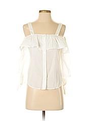 Love, Fire Women 3/4 Sleeve Blouse Size S