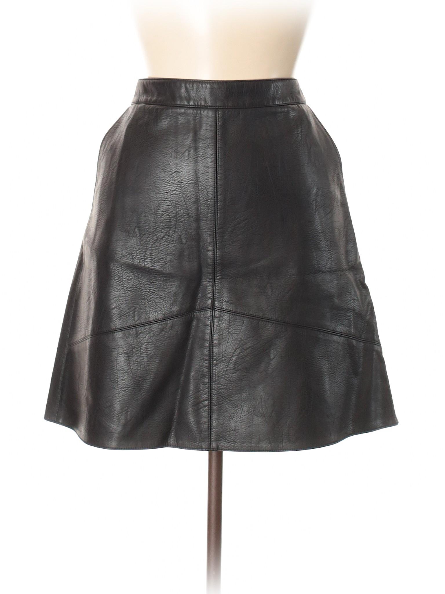winter Leather Skirt Leisure Basic Faux Zara SOxqwp