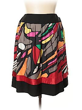 Nygard Collection Silk Skirt Size 16