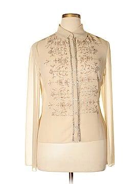 Newport News Long Sleeve Blouse Size 14