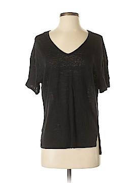 Joan Vass Short Sleeve Top Size S