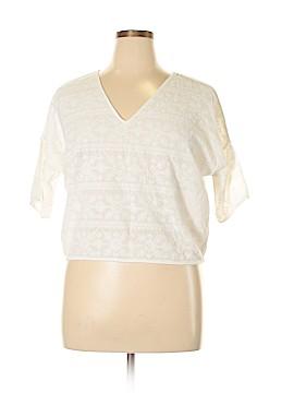 Cope Short Sleeve Blouse Size L