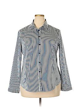 Zanzea Collection Long Sleeve Button-Down Shirt Size 16