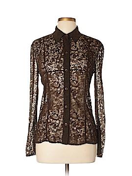 Cynthia Steffe Long Sleeve Blouse Size 8