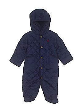 Ralph Lauren Baby One Piece Snowsuit Size 3 mo