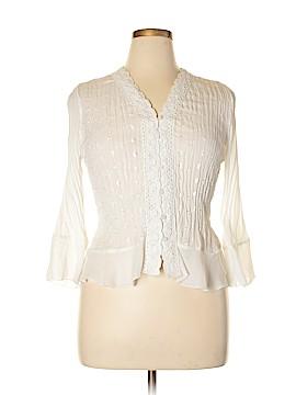 Allison Taylor Long Sleeve Blouse Size XL (Petite)