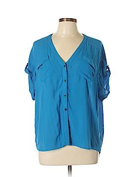Odille Short Sleeve Blouse Size 6