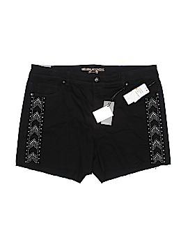Melissa McCarthy Seven7 Denim Shorts Size 18 (Plus)