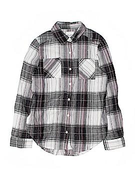 Mudd Long Sleeve Button-Down Shirt Size 16