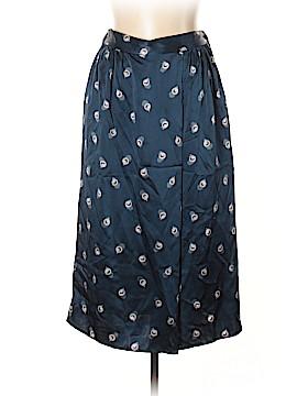 Tucker Silk Skirt Size L
