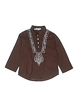 Spike & Annie Long Sleeve Button-Down Shirt Size 5