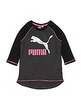 Puma 3/4 Sleeve T-Shirt Size 8/10