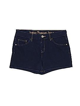 Justice Denim Shorts Size 14 1/2