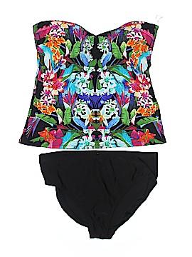 Bleu Rod Beattie Two Piece Swimsuit Size 14
