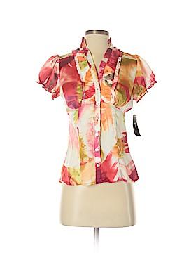 B.wear Short Sleeve Blouse Size S