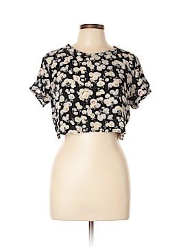 Mink Pink Short Sleeve Blouse Size L