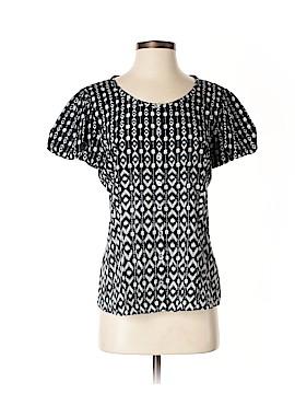 Escada Sport Short Sleeve Silk Top Size 40 (IT)