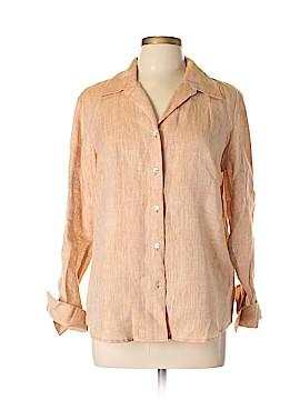 Richard Malcom Long Sleeve Button-Down Shirt Size L
