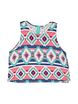 Papaya Sleeveless T-Shirt Size L