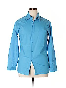 Rafael Long Sleeve Button-Down Shirt Size 18 (Plus)