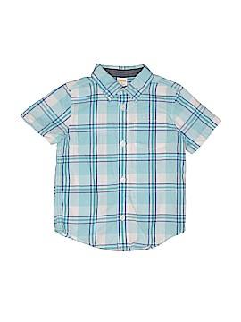 Gymboree Short Sleeve Button-Down Shirt Size 3T