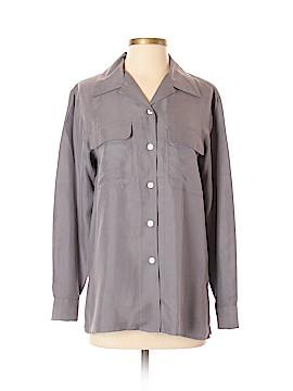 DressBarn Long Sleeve Button-Down Shirt Size S