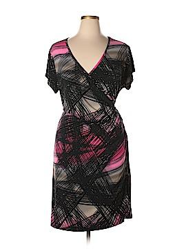 Worthington Casual Dress Size 22 (Plus)